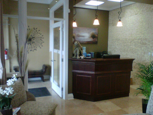 Our welcoming reception area